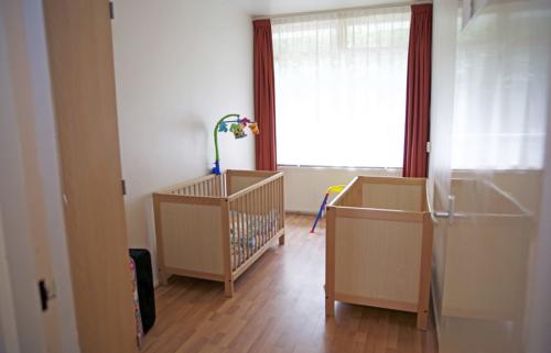 Een aparte slaapkamer voor de kinderen.