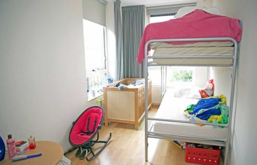 De slaapkamer voor de kinderen.